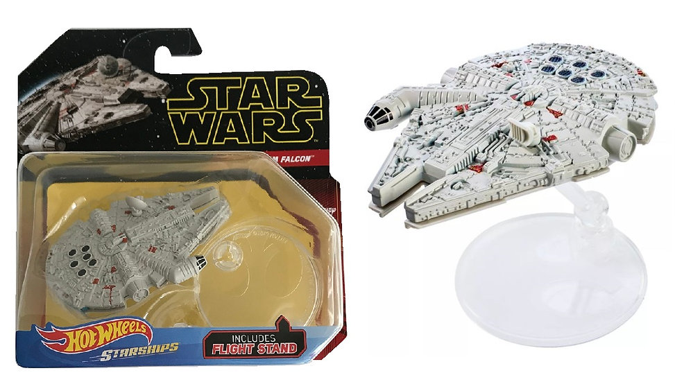 Hot Wheels Starships Star Wars The Last Jedi Millennium Falcon