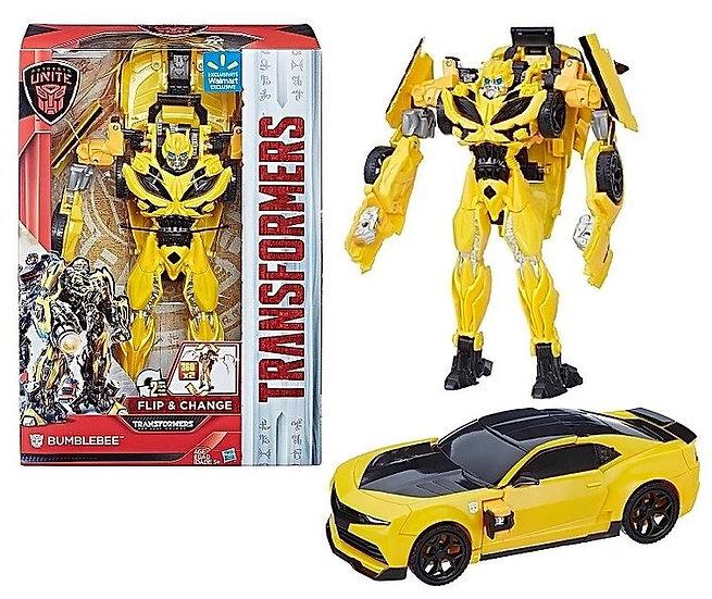 Transformers Autobots Unite Flip And Change Bumblebee Walmart Exclusive