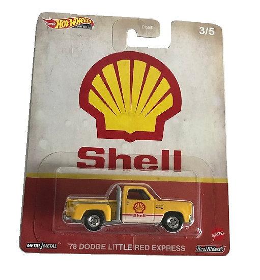 Hot Wheels Premium '78 Dodge Little Red Express