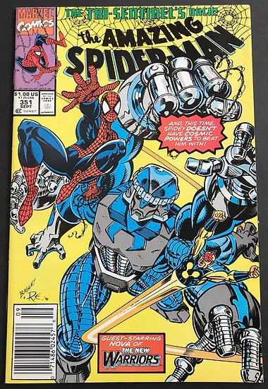 Amazing Spider-Man (1963 1st Series) #351 VF/NM