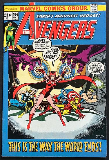 Avengers (Marvel) #104 VF