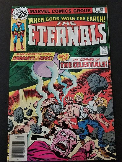 Eternals (1976 1st Series) #2  FN/VF [1st Appearance of the Celestials]