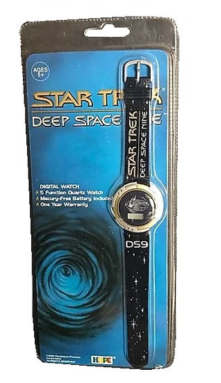 1993 Star Trek Deep Space Nine Digital Watch paramount Picture