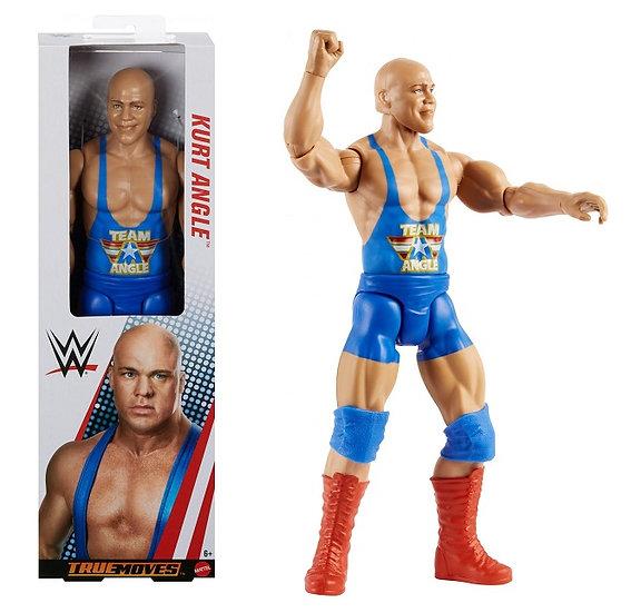 "WWE True Moves Life-Like Posing Kurt Angle 12"" Action Figure"