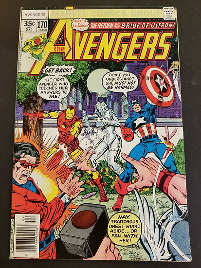 Avengers (Marvel ) #170 NM