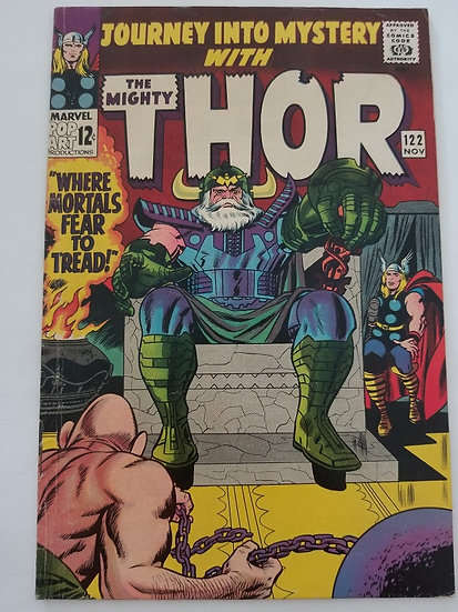 Thor (1962-1996 1st Series Journey Into Mystery) #122 FN-