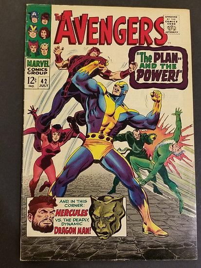 Avengers (Marvel ) #42 VG/FN