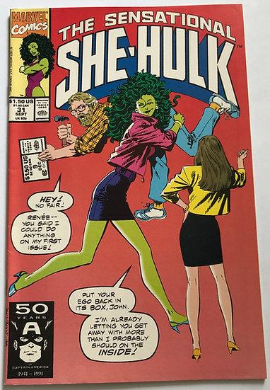 Sensational She-Hulk (Marvel) #31 VF+