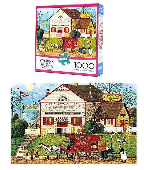 Buffalo Games Charles Wysocki Sugar And Spice 1000 Puzzle