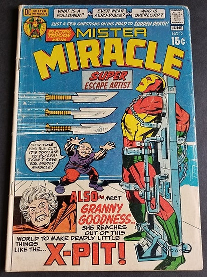 Mister Miracle 2 VG 1st appearance of Granny Goodness.