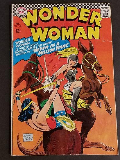 Wonder Woman (1942 1st Series DC) #168 VG