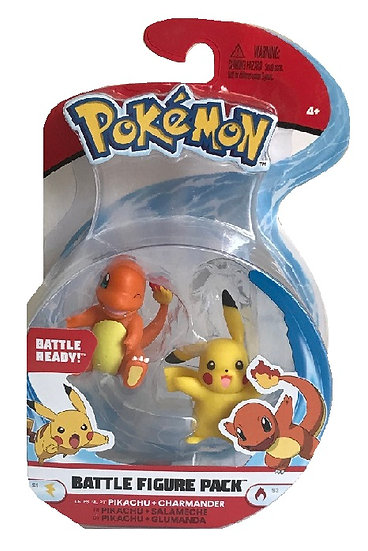Pokemon Battle Figure Pack Pikachu And Charmander Mini Figure