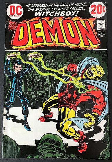 Demon (1972 1st Series) #7 VF- [1st Witch Boy]