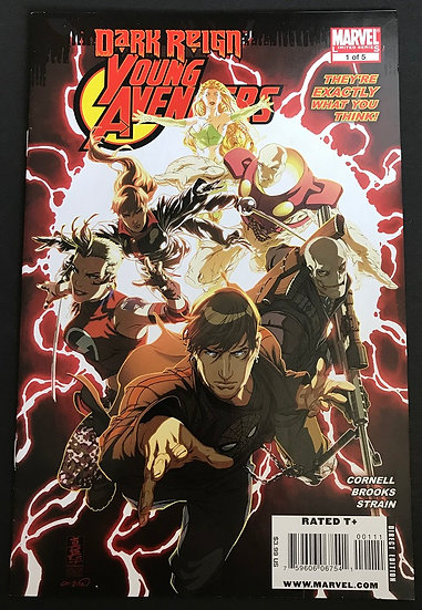 Dark Reign Young Avengers (2009) #1 VF