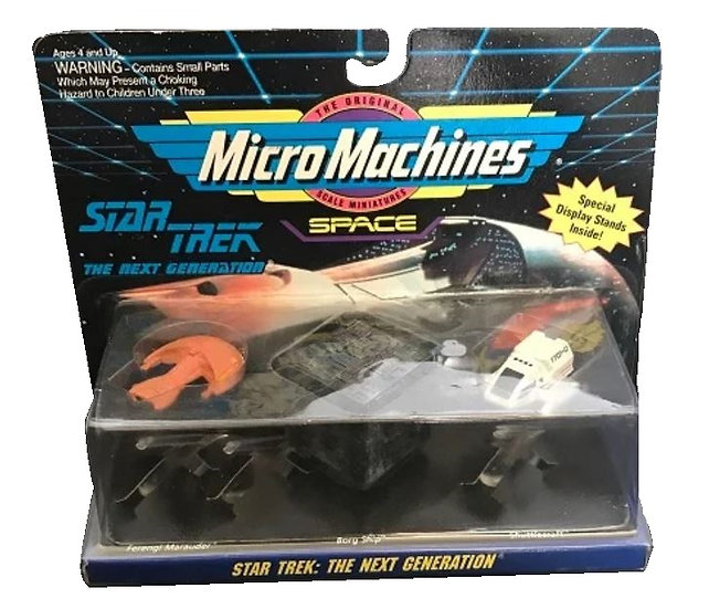 Vintage Star Trek Micro Machines Space The Next Generation Collection No.4