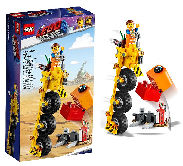 Lego Buiding Toy The Lego Movie 2 Emmet's Thricycle 70823