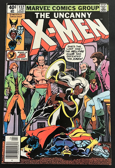 X-Men (Marvel) Mark Jewelers #132 NM
