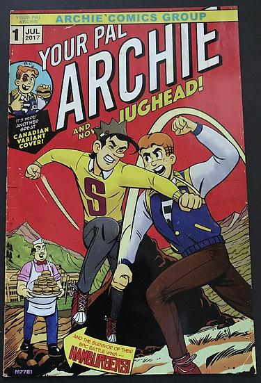 Your Pal Archie #1 VF/NM [HULK 181 Homage Variant]