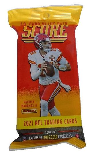 2021 Panini Score NFL Cards Fat Pack