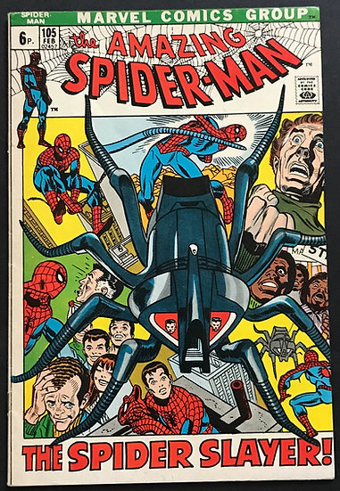 Amazing Spider-Man (Marvel) #105 FN+