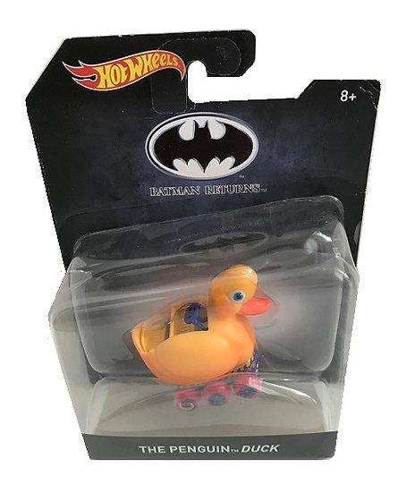 Batman Returns The Penguin Duck Hot Wheels Retro Diecast Car 1:50 Scale