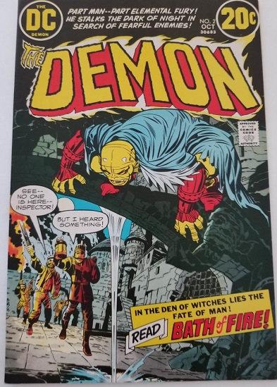 Demon (1972 1st Series) #2 NM-