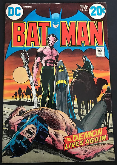 Batman #244 VG-