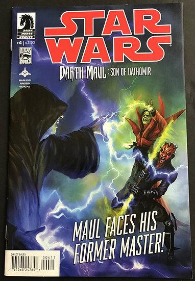 Star Wars Darth Maul Son of Dathomir (2014) #4 NM-