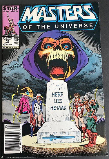 Masters of the Universe (1986 Marvel/Star Comics) #12 FN [Newstand]