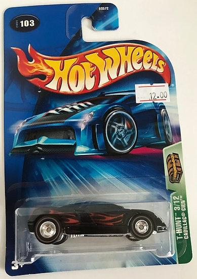 Hot Wheels Treasure Hunts 04 Cadillac Cien - 3/12 New Sealed
