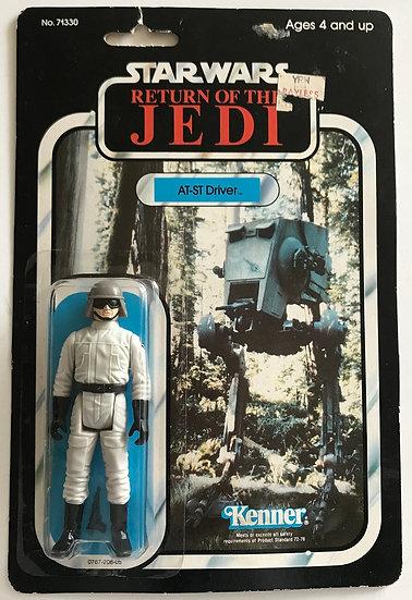 1983 ROTJ Star Wars AT-ST Driver MOSC 77 Back