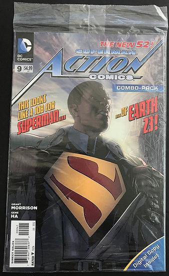 Action Comics (2011 2nd Series) #9COMBO NM+ [Poly Bag]