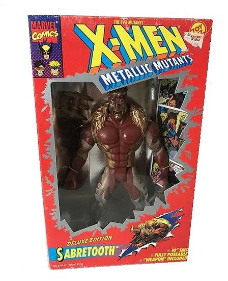 1994 Vintage Marvel Comics The Evil Mutants X-men Metallic Mutants Sabretooth
