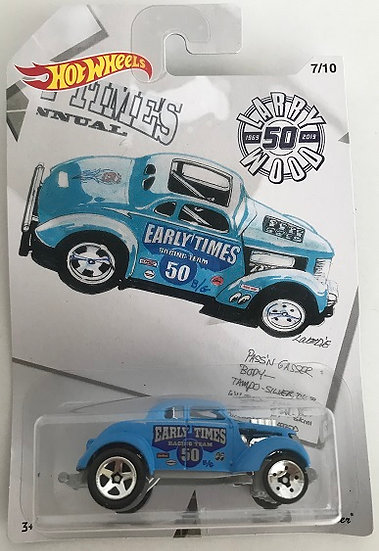 2018 Hot Wheels Larry Wood 50th Anniversary Pass'n Gasser