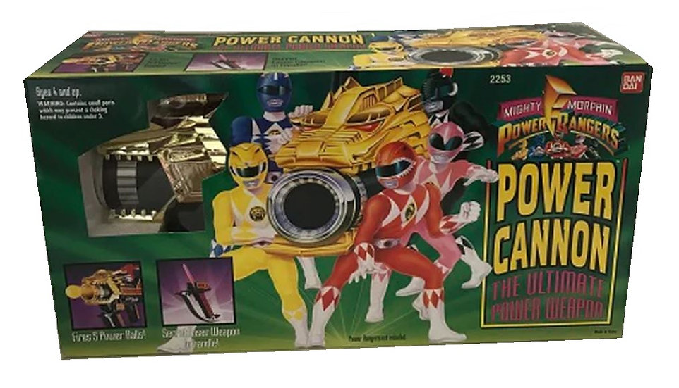 1994 Mighty Morphin Power Rangers Power Cannon The Ultimate Power Weapon No.2253