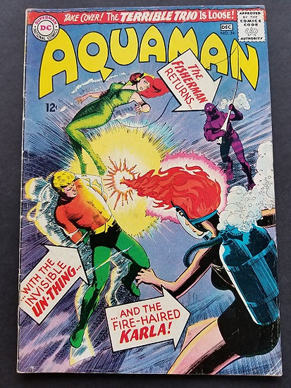 Aquaman (1962 1st Series) #24 VG/FN