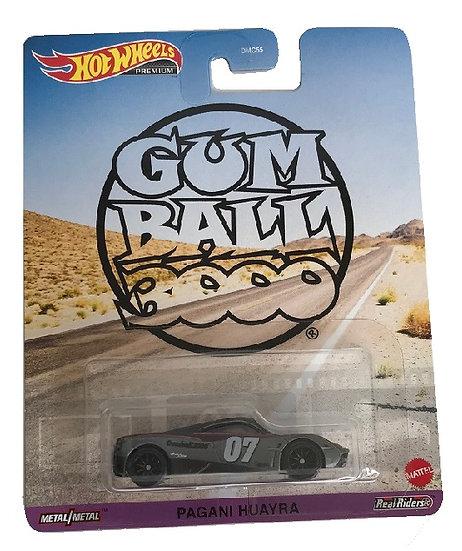 Hot Wheels Premium Gum Ball 3000 Pagani Huayra