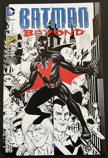 Batman Beyond #1 (2015) NM- [sdcc 2015 exclusive]