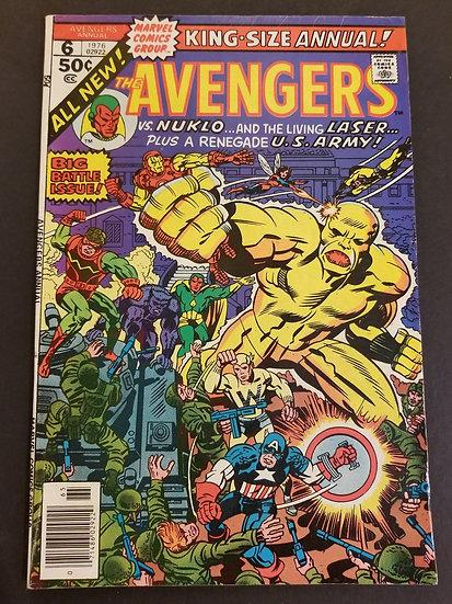 Avengers (Marvel ) Annual #6 VF