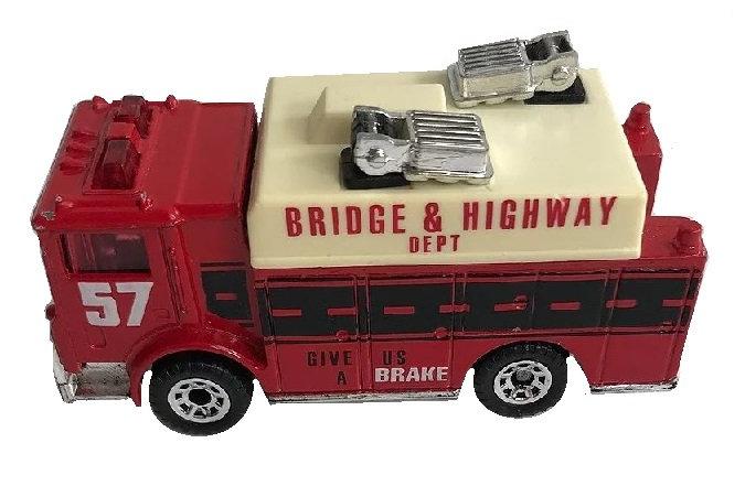 1991 Matchbox Auxiliary Power Truck [Loose Die-Cast Matchbox]