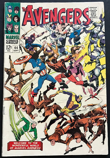 Avengers (DC) #44