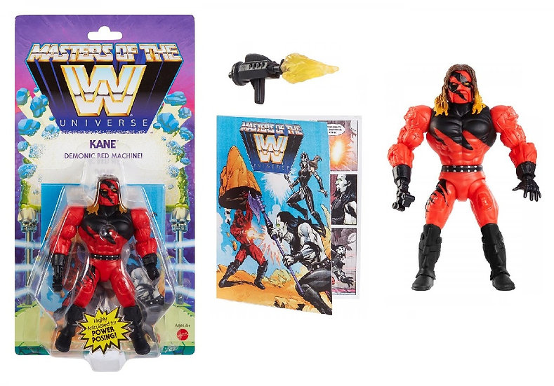 WWE Masters of the Universe Kane Action Figure