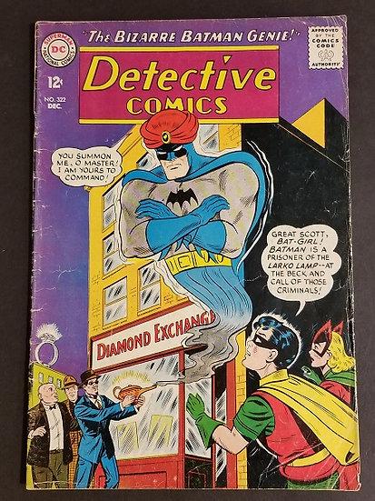 Detective Comics (1937 1st Series) #322 FN-