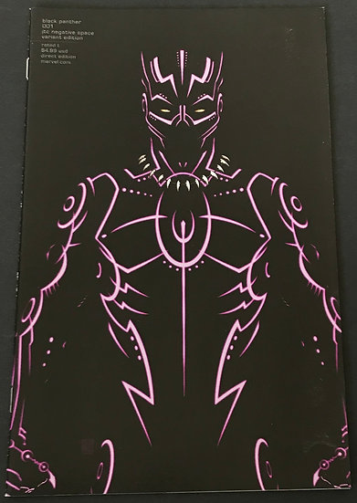 Black Panther (Marvel) #1 [Negative Space Exclusive Variant cover]
