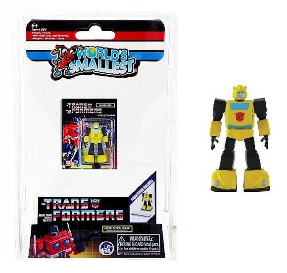 World's Smallest Mini Transformers Bumblebee Micro Action Figure