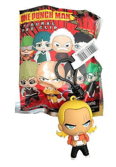 One Punch Man King 3-D Figural Bag Clip