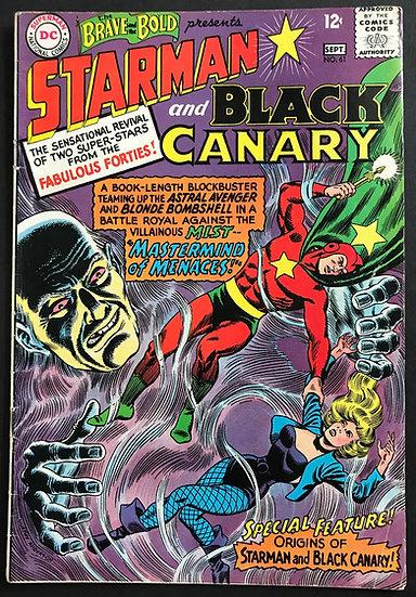 Brave and the Bold #61 FN+ [Origin Starman]