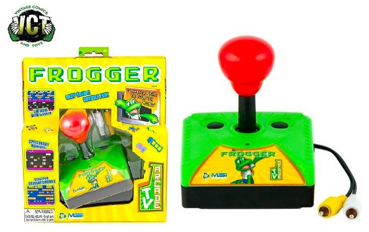 Plug N Play Frogger Classic TV Arcade Game