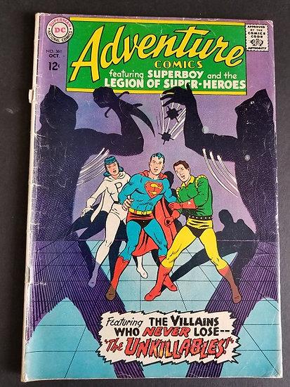 Adventure Comics (1938 1st Series) #361 VG