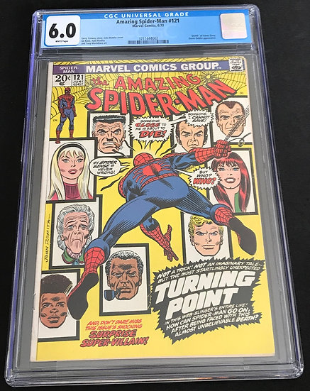 Amazing Spider-Man (Marvel) #121 CGC 6.0 White Pages